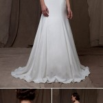 Wedding Dress Trends – Illusion Neckline Wedding Dresses from Fall 2014 Bridal Market