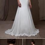 Wedding Dress Trends – Illusion Neckline Wedding Dresses from Fall 2014 Bridal Market