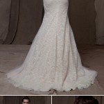 Wedding Dress Trends – Wedding Dresses with Beautiful Backs from Fall 2014 Bridal Market
