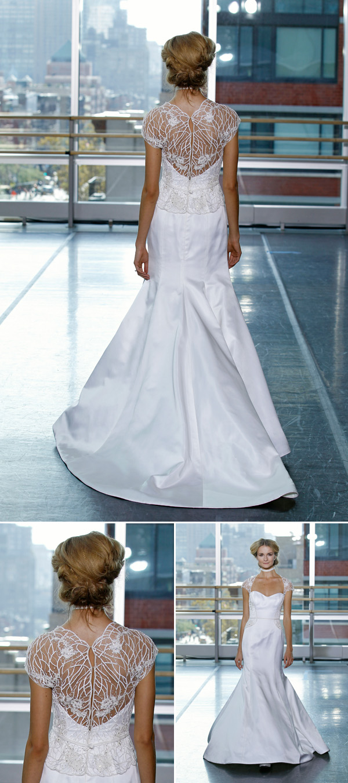 Wedding Dresses with Beautiful Backs | Junebug Weddings