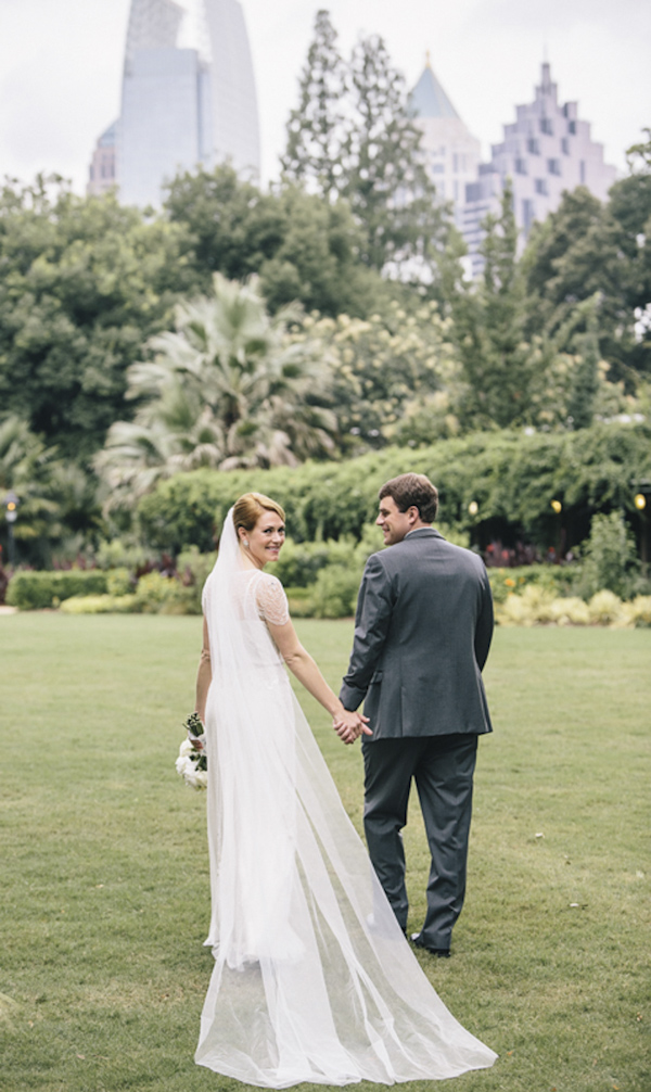 Garden Wedding at Atlanta Botanical Garden Junebug Weddings