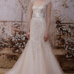 Wedding Dress Trends – Blush, Peach and Pink Wedding Dresses from Fall 2014 Bridal Market