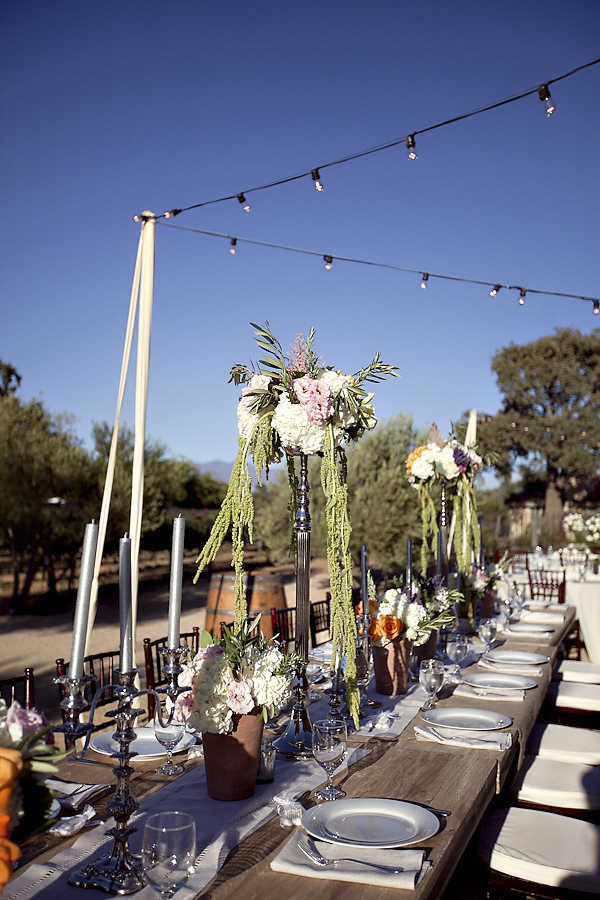 vineyard wedding at Sunstone Winery, Santa Ynez, California, photos by Santa Barbara, CA wedding photographers Ashleigh Taylor Photography | via junebugweddings.com