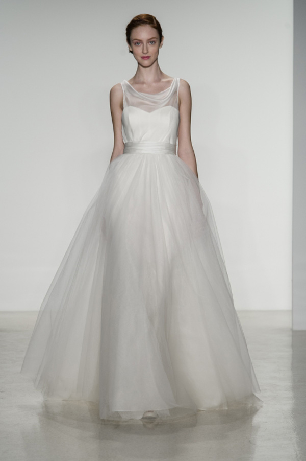 Tulle Wedding Dresses from Fall 2014 Bridal Market | Junebug Weddings