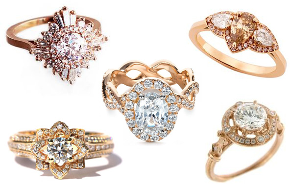 unique engagement rings with personality | via junebugweddings.com
