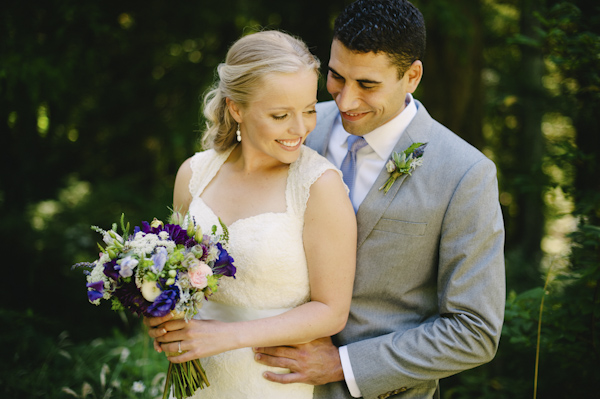 Natural Outdoors Wedding In Portland Oregon At Hoyt Arboretum Photo By Aaron
