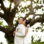 Pink Ombre Hawaii Wedding by Dmitri and Sandra Photography – Lynn and George