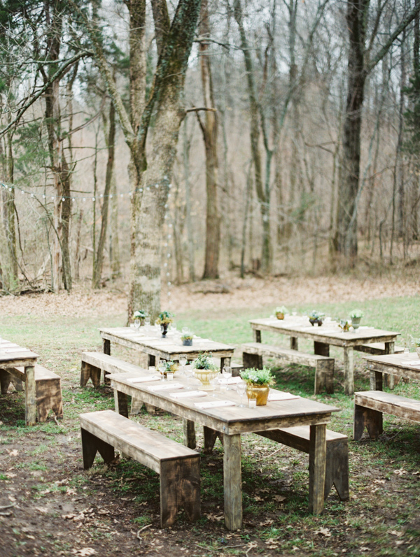 romantic pastoral wedding on a Tennessee farm with photos by Erich McVey | via junebugweddings.com