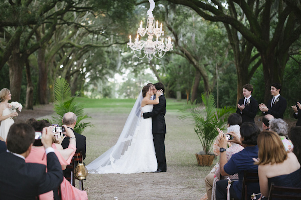 wedding at Legare Waring House in Charleston, South Carolina, photo by Paige Winn Photo | via junebugweddings.com