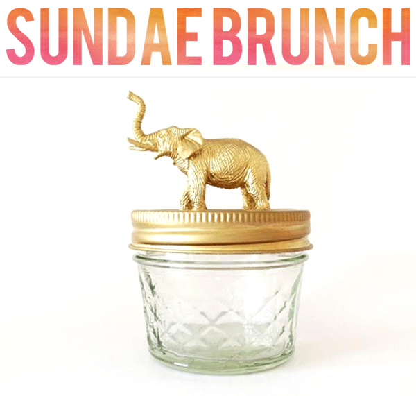 Sundae Brunch holiday giveaway from Cloud Parade | via junebugweddings.com