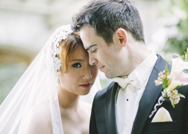 castle wedding at Victoria, British, wedding photo by Ophelia Photography | via junebugweddings.com