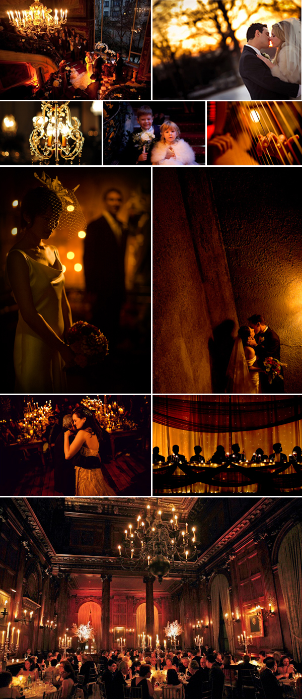 'tis the season - candlelit romance winter wedding inspiration | via junebugweddings.com