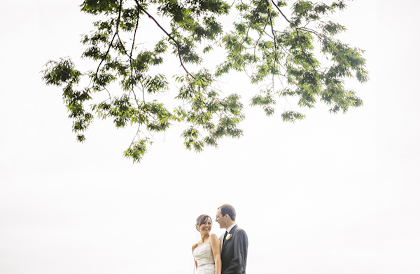 wedding portrait of bride and groom by Sam Hurd Photography | via junebugweddings.com