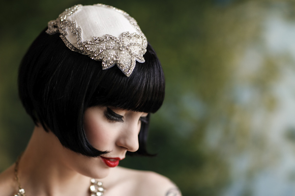 wedding portrait of bride by Stephen Kang of Liquid Fusion Photography | via junebugweddings.com
