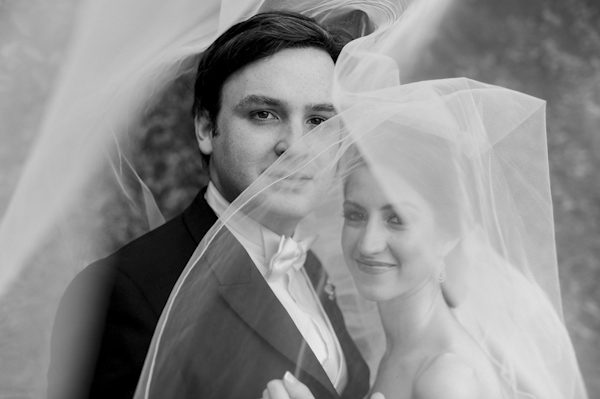 wedding portrait of bride and groom by Rafa Ibanez Photography | via junebugweddings.com