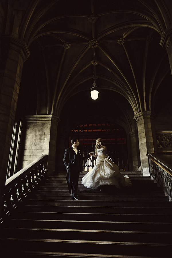 wedding portrait of bride and groom by Dmitri Markine | via junebugweddings.com