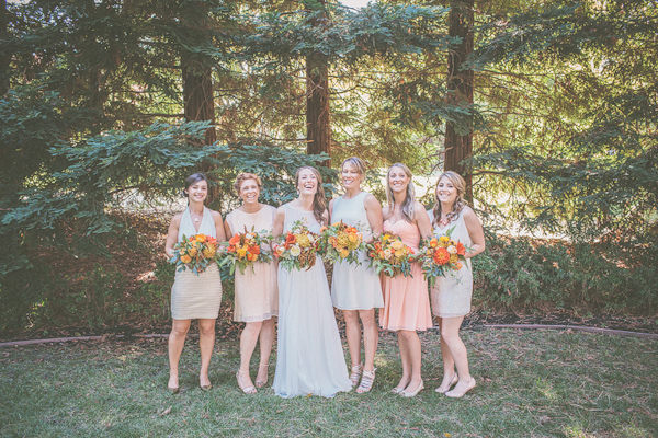 autumnal backyard wedding in Granite Bay, California with photos by Kris Holland Photography | junebugweddings.com (35)