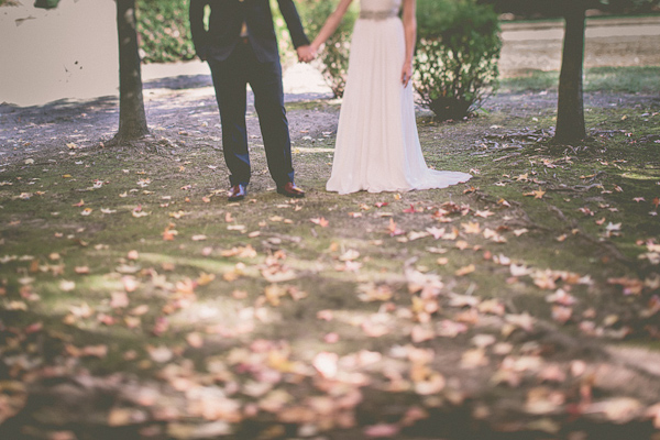 autumnal backyard wedding in Granite Bay, California with photos by Kris Holland Photography | junebugweddings.com (34)