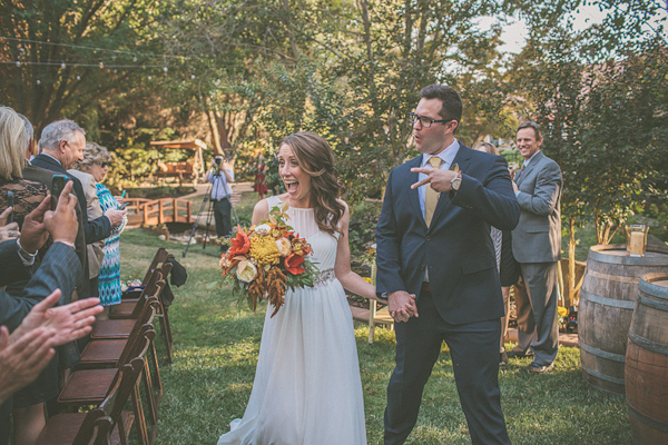 autumnal backyard wedding in Granite Bay, California with photos by Kris Holland Photography | junebugweddings.com (19)