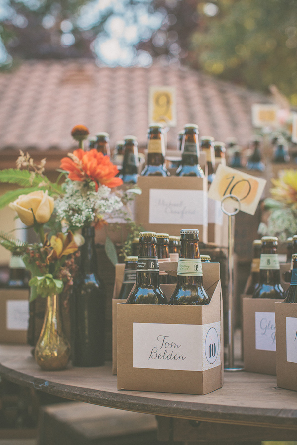 autumnal backyard wedding in Granite Bay, California with photos by Kris Holland Photography | junebugweddings.com (15)