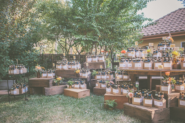 autumnal backyard wedding in Granite Bay, California with photos by Kris Holland Photography | junebugweddings.com (14)