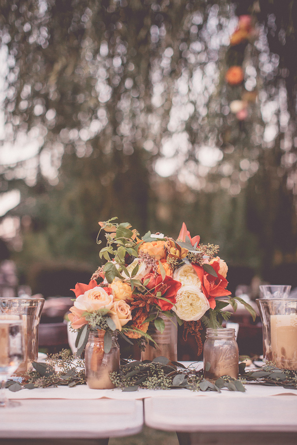 autumnal backyard wedding in Granite Bay, California with photos by Kris Holland Photography | junebugweddings.com (7)