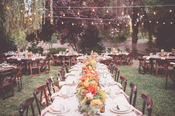 autumnal backyard wedding in Granite Bay, California with photos by Kris Holland Photography | junebugweddings.com (5)