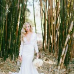 Dramatic and Sophisticated Bridal Style with Photos by Wai Reyes Photography