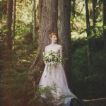 Enchanted Woodland Bridal Style Inspiration Shoot