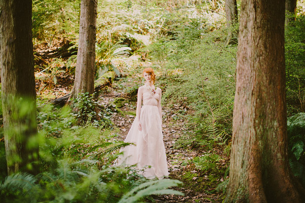 enchanted woodland bridal style inspiration shoot from Ryan Flynn Photography | via junebugweddings.com (7)