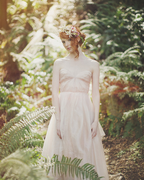 enchanted woodland bridal style inspiration shoot from Ryan Flynn Photography | via junebugweddings.com (6)