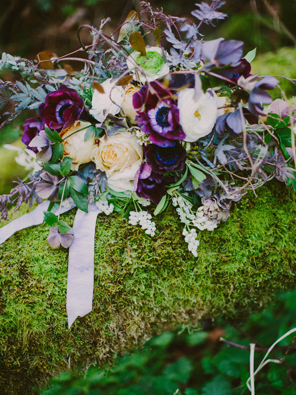 enchanted woodland bridal style inspiration shoot from Ryan Flynn Photography | via junebugweddings.com (5)