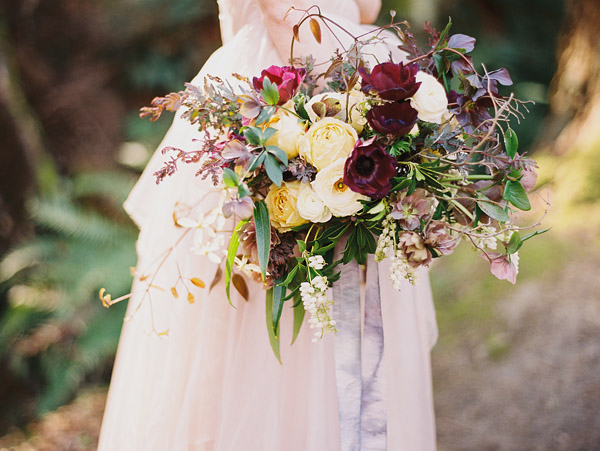 enchanted woodland bridal style inspiration shoot from Ryan Flynn Photography | via junebugweddings.com (1)