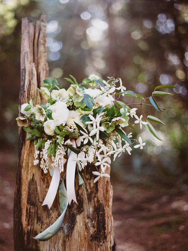 enchanted woodland bridal style inspiration shoot from Ryan Flynn Photography | via junebugweddings.com (15)