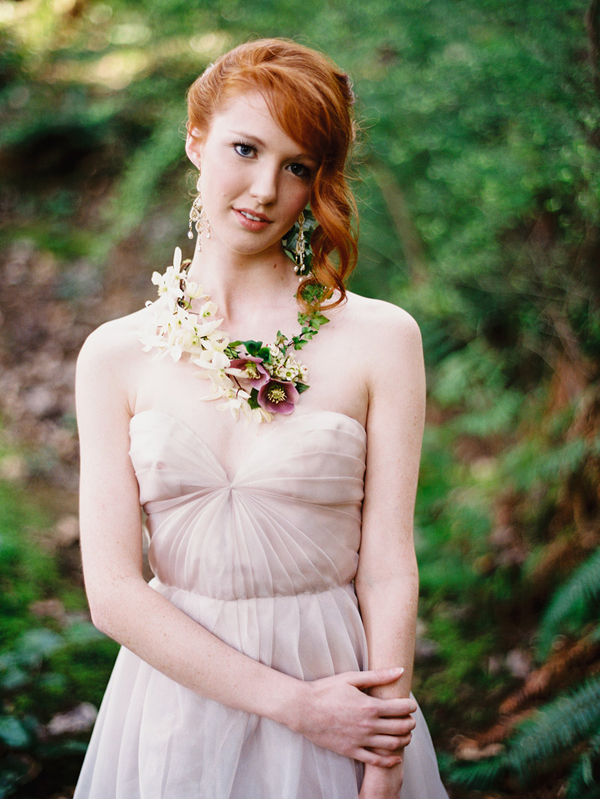 enchanted woodland bridal style inspiration shoot from Ryan Flynn Photography | via junebugweddings.com (9)