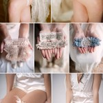 Lovely Bridal Garters from Twigs & Honey, Emily Riggs and Tessa Kim