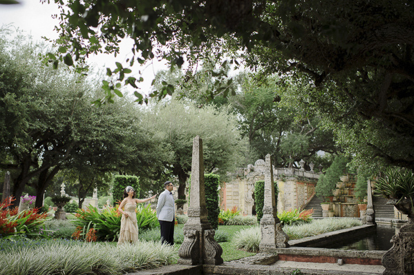 Vintage Wedding At Vizcaya Museum And Gardens Florida Photo By Maloman Studios Via
