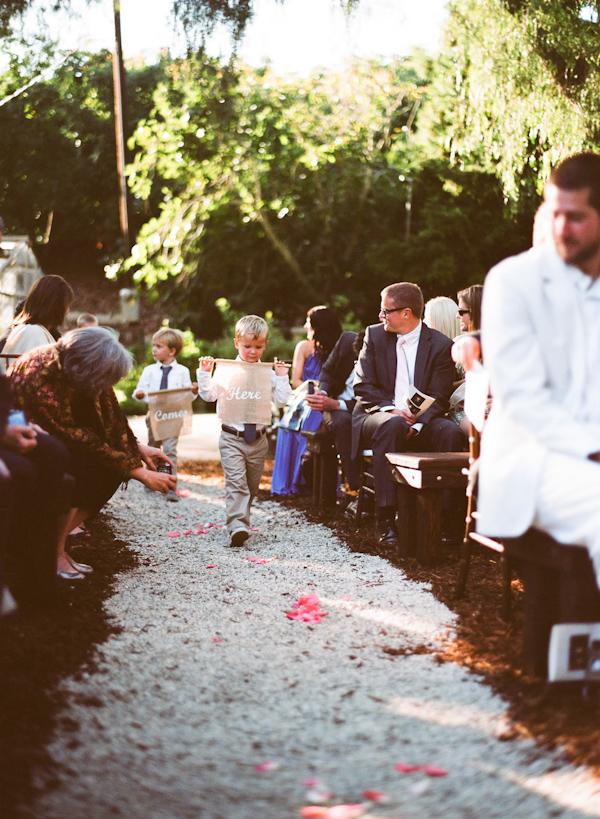 coral and teal California wedding from XOXO Bride with photos by Raya Carlisle | via junebugweddings.com (20)