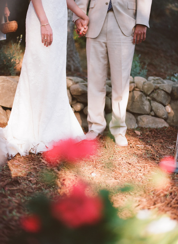 coral and teal California wedding from XOXO Bride with photos by Raya Carlisle | via junebugweddings.com (19)