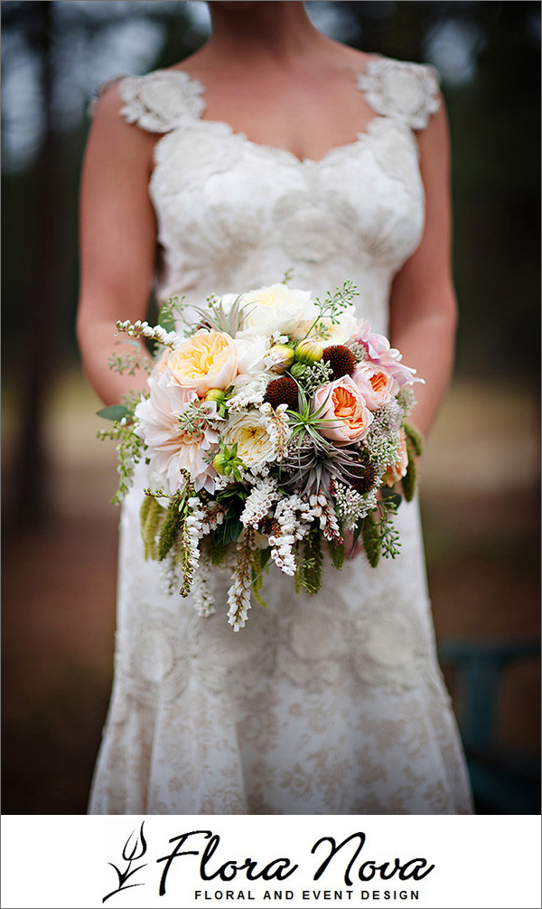 Favorite Bridal Bouquets of 2013 from Junebug Member Florists | via junebugweddings.com
