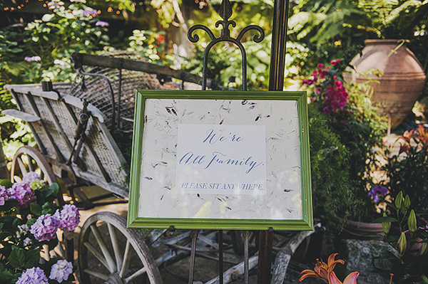organic outdoor summer wedding at Holly Farm - photo by Lisa Lefringhouse Photography | via junebugweddings.com