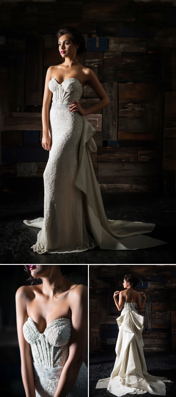 The Latest from Junebug's Wedding Dress Gallery from Carol Hannah | via junebugweddings.com