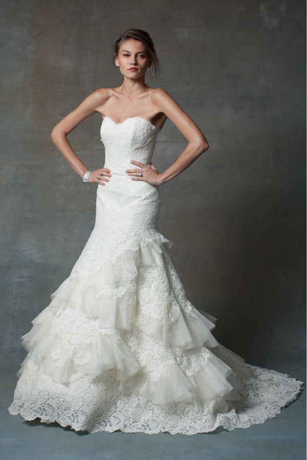 The Latest from Junebug's Wedding Dress Gallery from Isabelle Armstrong | via junebugweddings.com