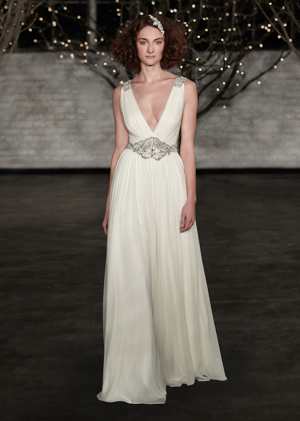 The Latest from Junebug's Wedding Dress Gallery from Jenny Packham | via junebugweddings.com