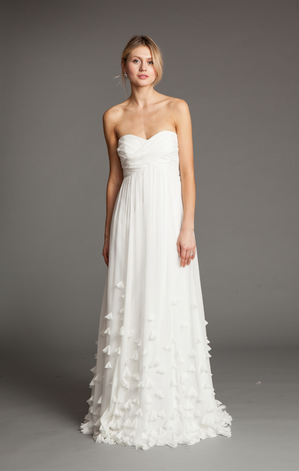 The Latest from Junebug's Wedding Dress Gallery from Jenny Yoo | via junebugweddings.com