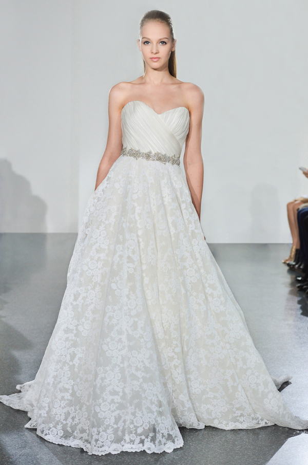 The Latest from Junebug's Wedding Dress Gallery from Romona Keveza | via junebugweddings.com