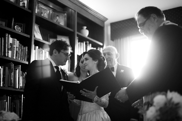 family focused traditional jewish wedding at Philadelphia Cricket Club in Pennsylvania, photo by Asya Photography | via junebugweddings.com