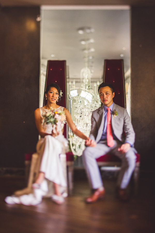vibrant urban wedding in Los Angeles with photos by Jeff Newsom | via junebugweddings.com (31)