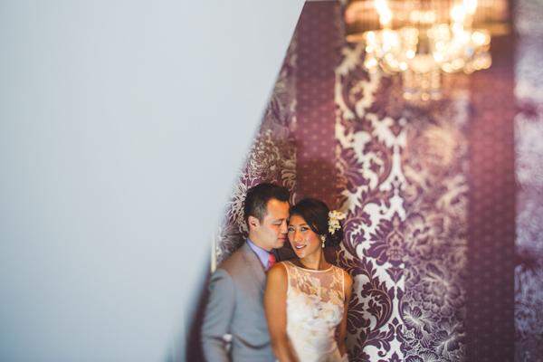 vibrant urban wedding in Los Angeles with photos by Jeff Newsom | via junebugweddings.com (19)