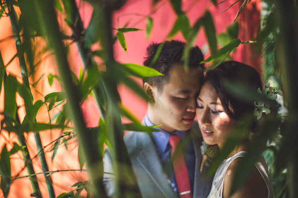 vibrant urban wedding in Los Angeles with photos by Jeff Newsom | via junebugweddings.com (18)